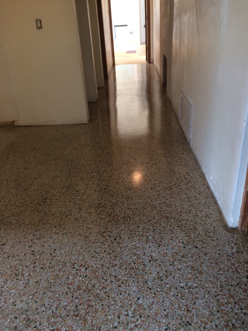 TERRAZZO CLEANING & SEALING - AFTER